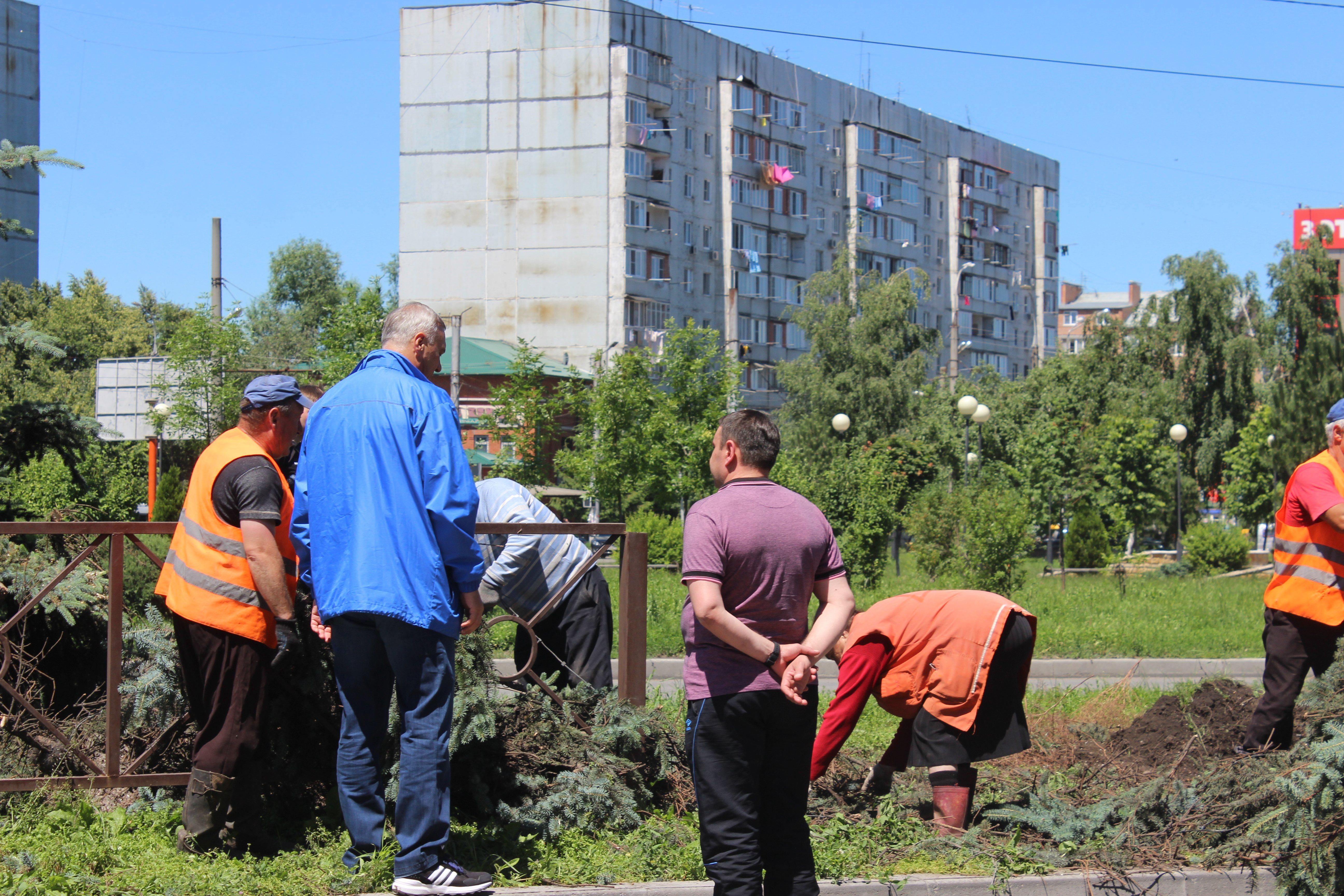 Владикавказ принял участие в общереспубликанском субботнике